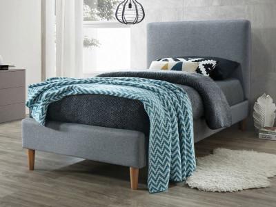 Кровать SIGNAL Acoma (90*200) серый/дуб