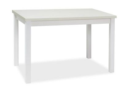 Обеденный стол SIGNAL Adam 120 белый матовый, 120/68/75