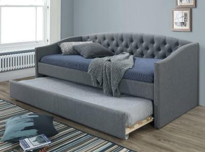 Кровать SIGNAL Alessia (90*200) серый/дуб