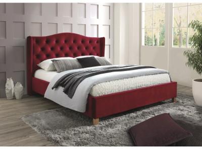 Кровать SIGNAL Aspen Velvet (160*200) бордовый
