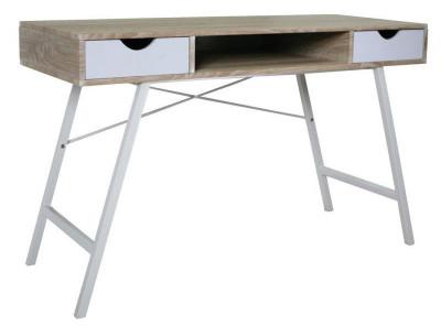 Стол письменный SIGNAL B-140 дуб сонома+белый /белый, 120/48/76