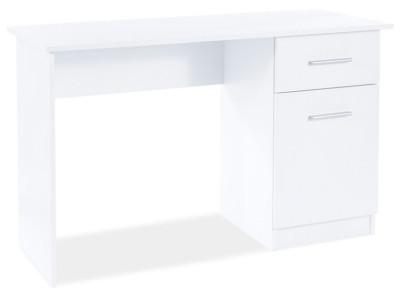 Стол письменный SIGNAL B-002 белый матовый, 120/51/78