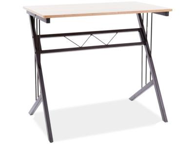 Стол письменный SIGNAL B-120 дуб/темно-коричневый, 80/51/72
