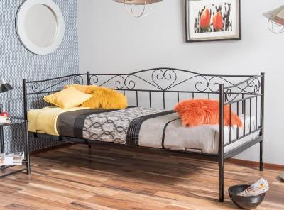 Кровать SIGNAL Birma (90*200) черный