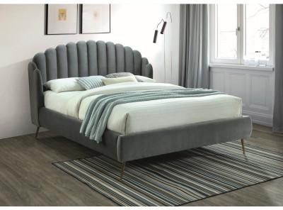 Кровать SIGNAL Calabria Velvet (160*200) серый