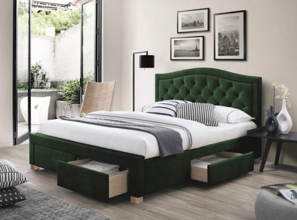 Кровать SIGNAL Electra Velvet (160*200) серый