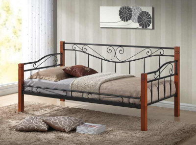 Кровать SIGNAL Kenia (90*200) античная черешня