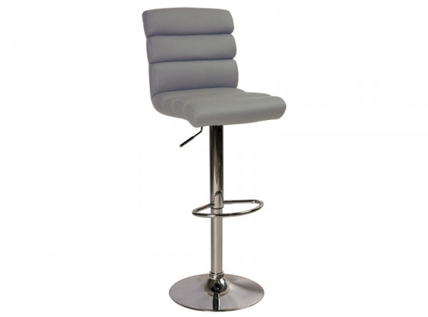 Барный стул SIGNAL C-617 серый/хром