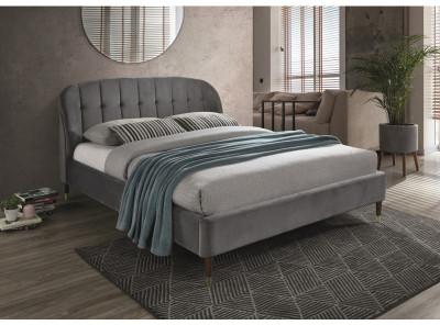 Кровать SIGNAL Liguria Velvet (160*200) серый