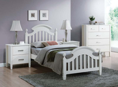 Кровать SIGNAL Lizbona (90*200) белый