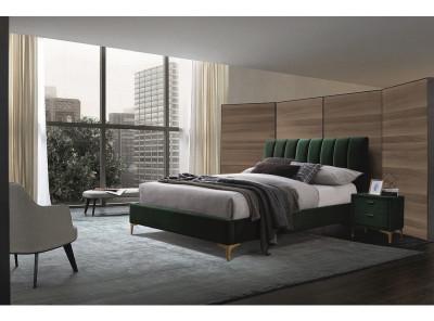 Кровать SIGNAL Mirage Velvet (160*200) зеленый