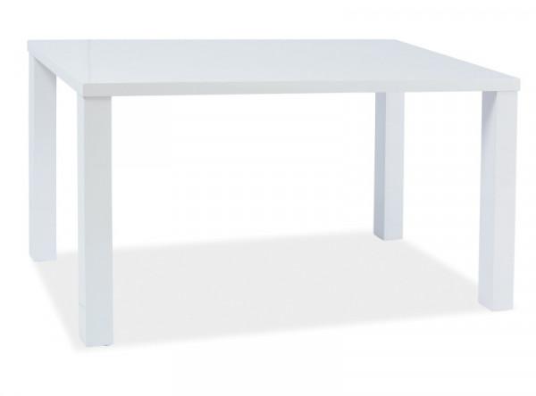 Обеденный стол SIGNAL Montego белый лак, 120/80/75