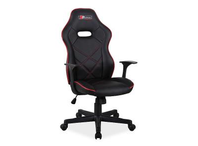 Кресло компьютерное SIGNAL Boxter черный+красный/черный