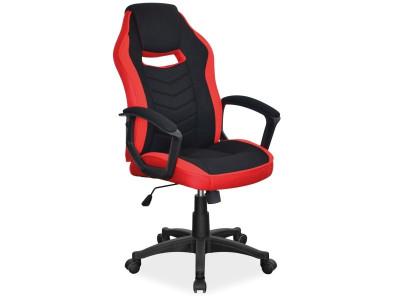 Кресло компьютерное SIGNAL Camaro черный+красный/черный
