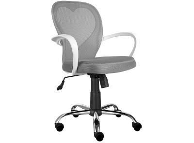 Кресло компьютерное SIGNAL Daisy серый/хром