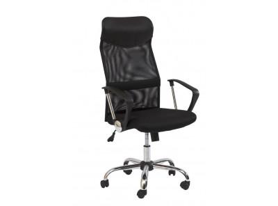 Кресло компьютерное SIGNAL Q-025 черный/хром