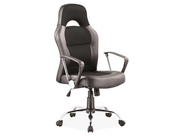Кресло компьютерное SIGNAL Q-033 черный/хром