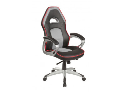 Кресло компьютерное SIGNAL Q-055 черный+серый/черный+серый