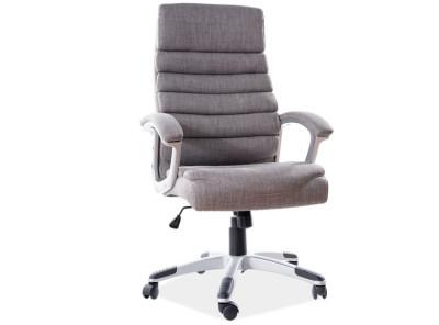 Кресло компьютерное SIGNAL Q-087 tkanina серый/хром