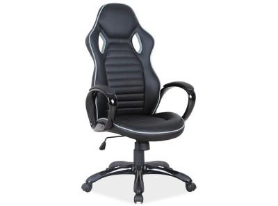 Кресло компьютерное SIGNAL Q-105 черный+серый /черный