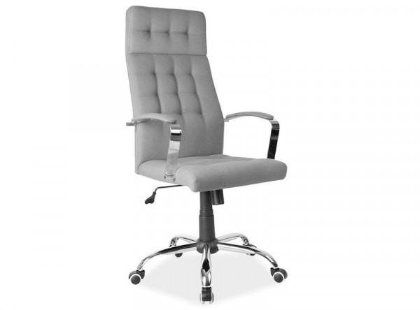 Кресло компьютерное SIGNAL Q-136 серый/хром