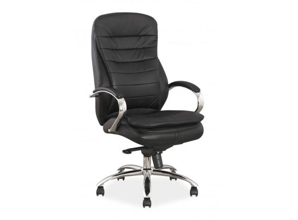 Кресло компьютерное SIGNAL Q-154 черный/хром