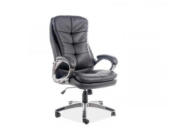 Кресло компьютерное SIGNAL Q-270 черный/хром