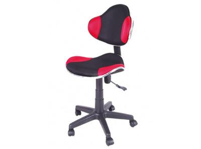 Кресло компьютерное SIGNAL Q-G2 красный+черный/черный