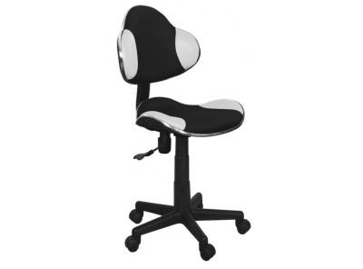 Кресло компьютерное SIGNAL Q-G2 белый+черный/черный