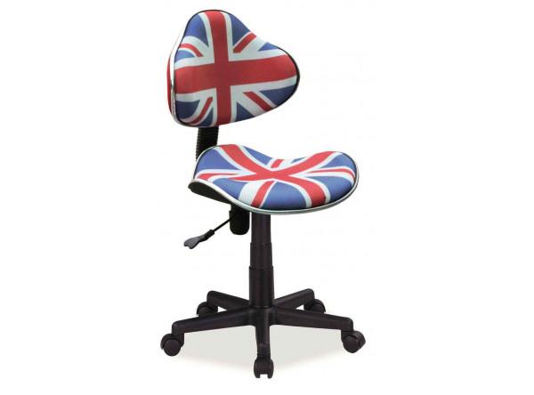 Кресло компьютерное SIGNAL Q-G2 флаг/черный