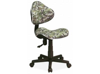 Кресло компьютерное SIGNAL Q-G2 моро/черный