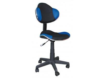 Кресло компьютерное SIGNAL Q-G2 черный+синий/черный