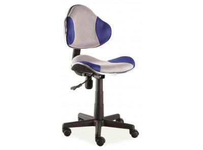 Кресло компьютерное SIGNAL Q-G2 синий+серый/черный