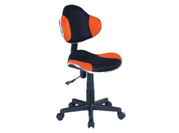 Кресло компьютерное SIGNAL Q-G2 оранжевый+черный/черный