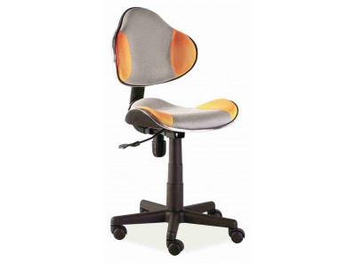 Кресло компьютерное SIGNAL Q-G2 оранжевый+серый/черный
