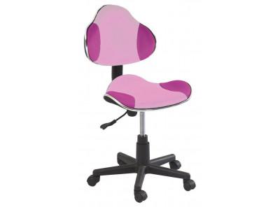 Кресло компьютерное SIGNAL Q-G2 розовый/черный