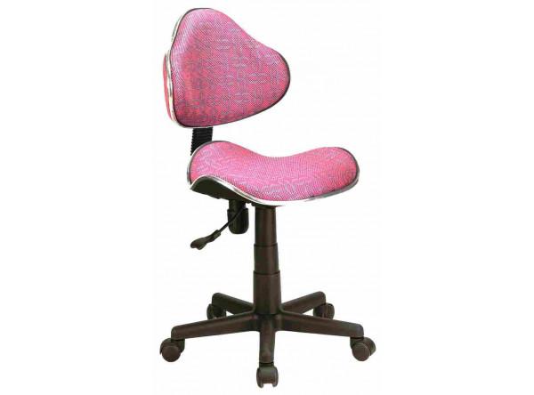Кресло компьютерное SIGNAL Q-G2 розовые узоры/черный