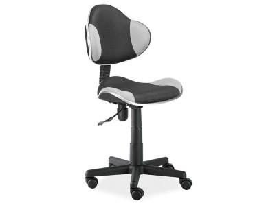 Кресло компьютерное SIGNAL Q-G2 серый+черный/черный