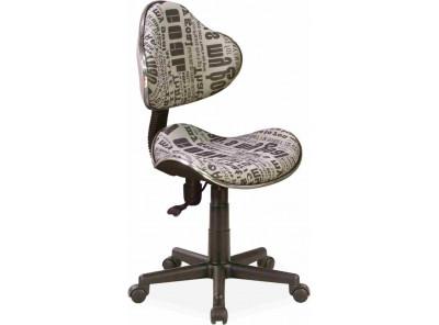 Кресло компьютерное SIGNAL Q-G2 текст/черный