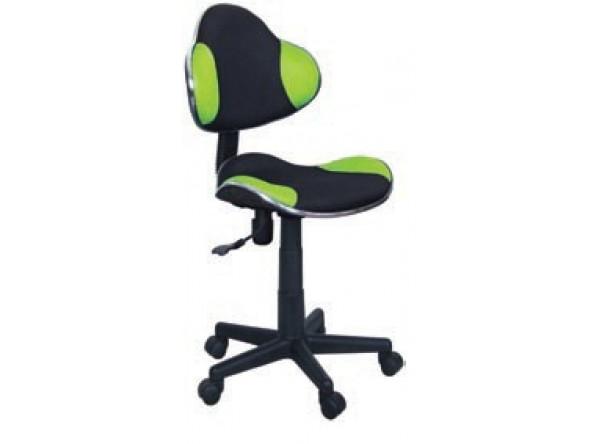 Кресло компьютерное SIGNAL Q-G2 зеленый+черный/черный