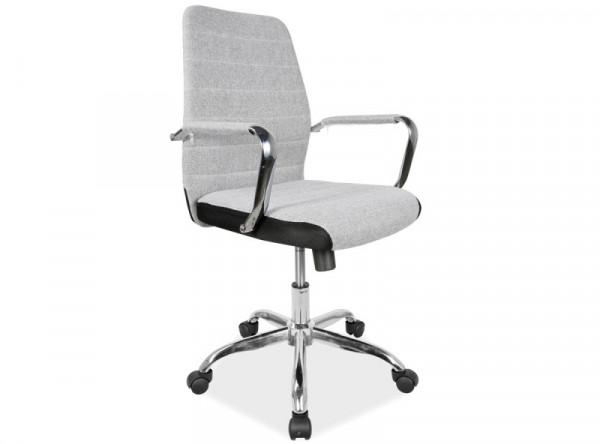 Кресло компьютерное SIGNAL Q-M3 серый/хром