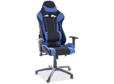 Кресло компьютерное SIGNAL Viper черный+синий/черный