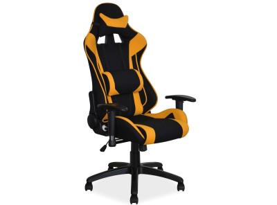 Кресло компьютерное SIGNAL Viper черный+желтый/черный