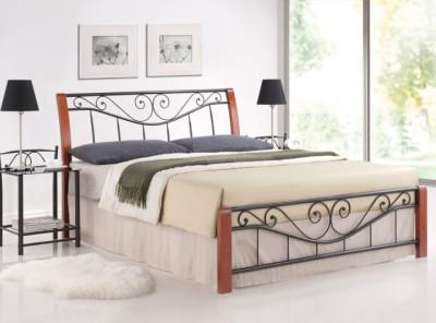 Кровать SIGNAL Parma (160*200)  античная черешня