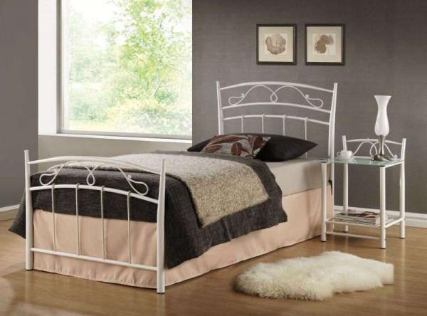 Кровать SIGNAL Siena (90*200) белый