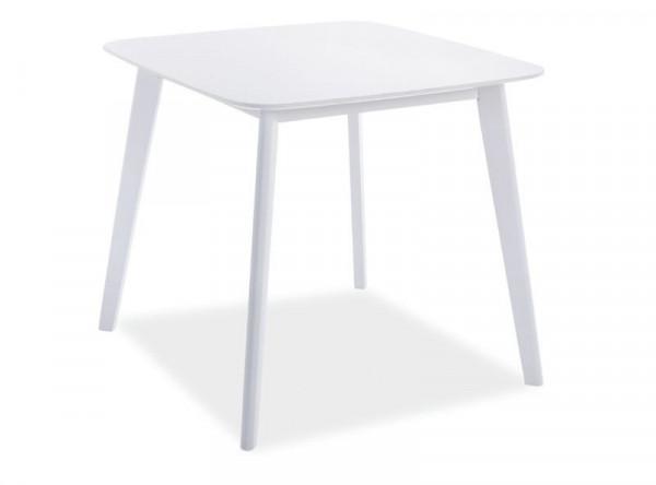 Обеденный стол SIGNAL Sigma белый, 80/80/75