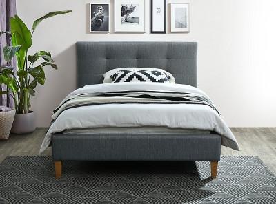 Кровать SIGNAL Texas (120*200) серый/дуб