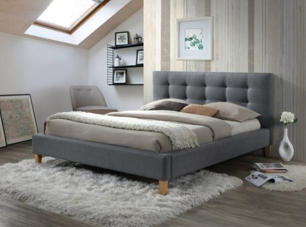 Кровать SIGNAL Texas (180*200) серый