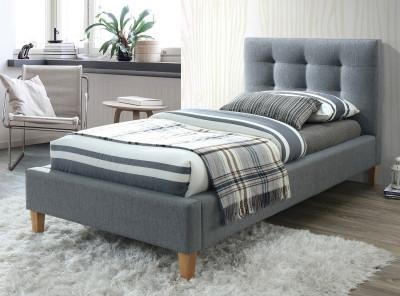 Кровать SIGNAL Texas  (90*200) серый/дуб