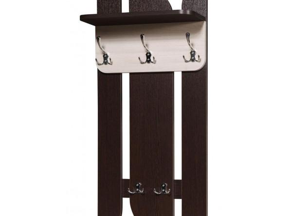 Вешалка для одежды Мебель-Класс Порто-3/МК 501.09.3 (венге/дуб шамони)